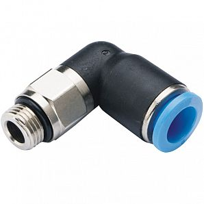 GPL-G Male Elbow Plastic Push-in Fitting/Pneumatic Fitting/Compressed Air Fitting/One Touch Tube Fitting