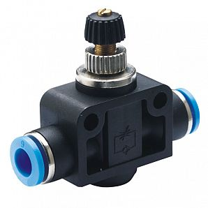 SA In-line Type/Universal Type/Push-lock Type Throttle Control Valve/Air Flow Control Valve/Pneumatic Flow Control Valve/Air Flow Controller/Flow Control Regulators