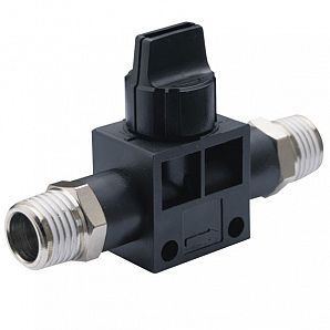 HVSS Shut Off Valve/Finger Valve/Hand Valves/Residual Relief 3 Port Valve