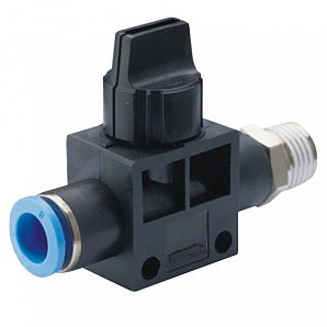 HVFS Shut Off Valve/Finger Valve/Hand Valves/Residual Relief 3 Port Valve
