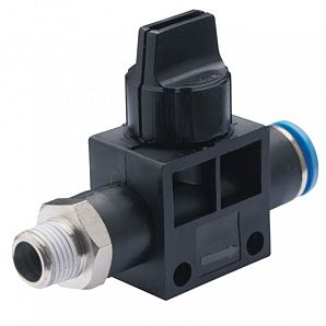 HVSF Shut Off Valve/Finger Valve/Hand Valves/Residual Relief 3 Port Valve