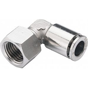MPFL Female Elbow L Brass Push-in Fitting/ Brass Pneumatic Fitting/Compressed Air Fitting/Metal One Touch Tube Fitting