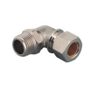 MTPL Brass Compression Male Elbow/ Brass Male Elbow Compression Fitting/Compression Elbow Air Fitting/Metal Compression Elbow Fitting