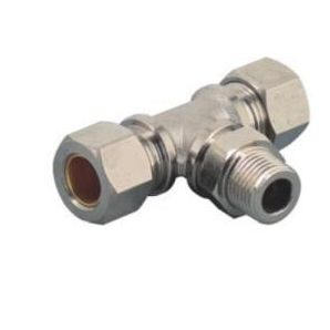 MTPB Male Tee Branch Brass Compression Fittings/ Branch Tee Pneumatic Compression Fitting/Branch Tee Metal Compression Fitting