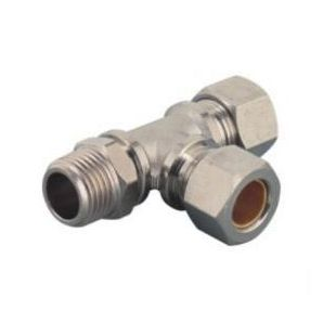 MTPD RunTee Compression Fittings/ Run Tee Pneumatic Compression Fitting/Run Tee Metal Compression Fitting