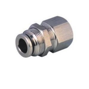 SS-PMF Bulkhead Stainless Steel Push in Connector/Bulkhead Stainless Steel Push in Fitting/Stainless Steel One Touch Tube Fitting/Stainless Steel Push to Connect Fitting