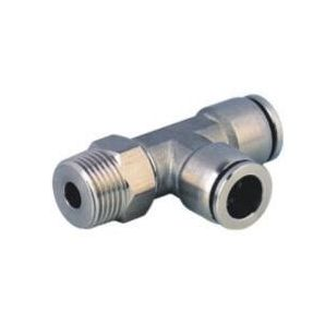 SS-PD Stainless Steel Tee Male Push in Connector/Stainless Steel Tee Push in Fitting/Stainless Steel One Touch Tube Fitting/Stainless Steel Push to Connect Fitting