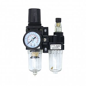 AC Filter Regulator+Lubricator